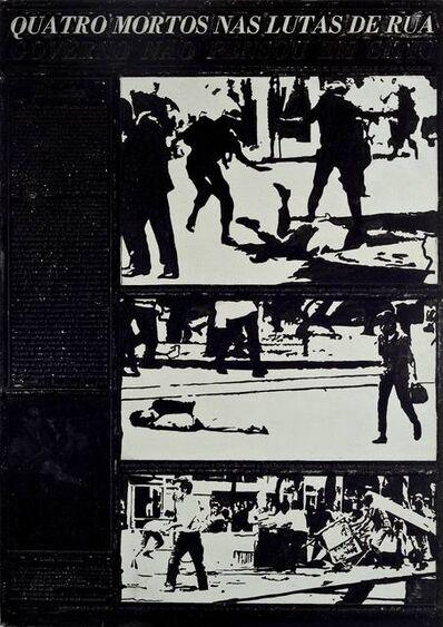 Antonio Manuel, 'Flan: Movimento Estudantil', 1968