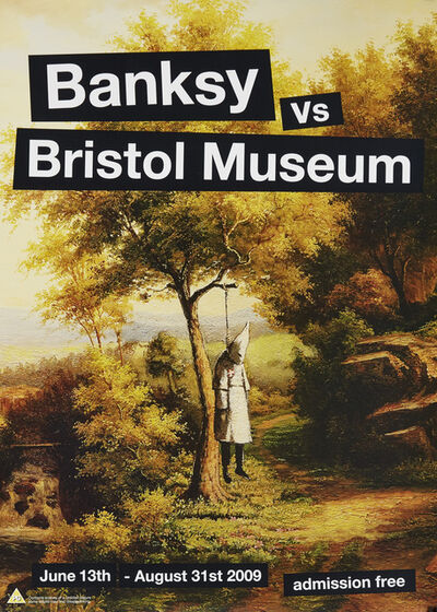Banksy, 'Four posters from the Banksy vs. Bristol Museum Exhibition', 2009