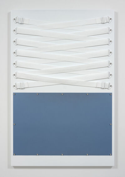 Joshua Saunders, 'White Over Light Blue', 2016