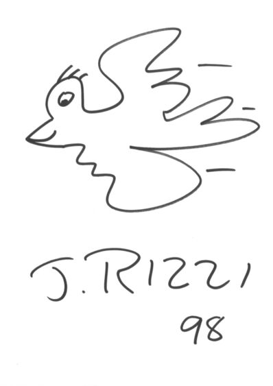 James Rizzi, 'Rizzi Bird (after James Rizzi)', 1998