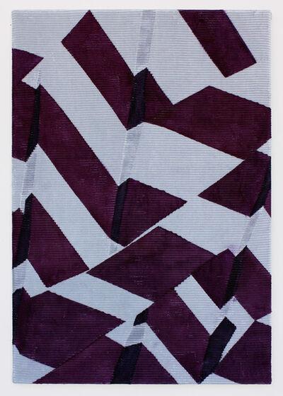 Roos van Dijk, 'Purple Foldings', 2017