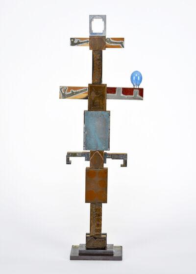 John Sager, 'Totem with Blue Sun'