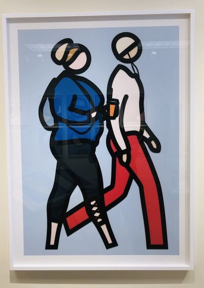 Julian Opie, 'New York Couples 8', 2019