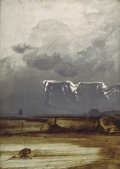 Peder Balke, 'From the North Cape', 1860's