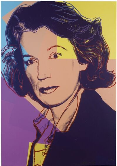 Andy Warhol, 'Mildred Scheel (F.&S. II.238)', 1980