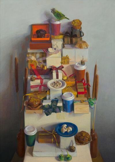 Janet Monafo, 'Perched Parakeet', 2009