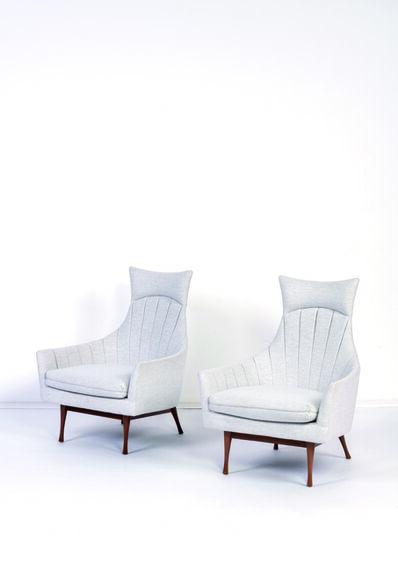 Paul McCobb for Widdicom Miller, 'Pair of lounge chairs', vers 1950