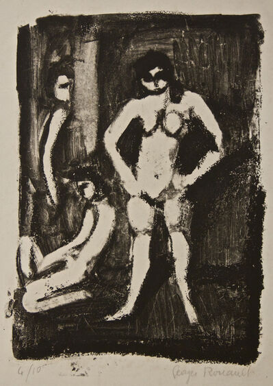 Georges Rouault, 'Models', 1950