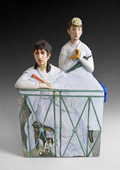 Kadri Pärnamets, 'The Balcony after Edouard Manet', 2015