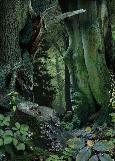 Ruud Van Empel, 'Study in Green #18', 2014