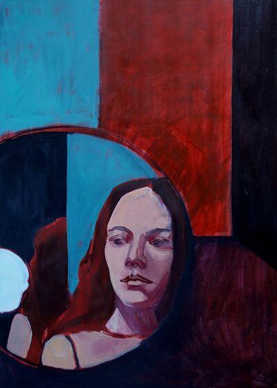 Maria Kostareva, 'Self Portrait in a Round Mirror', 2018