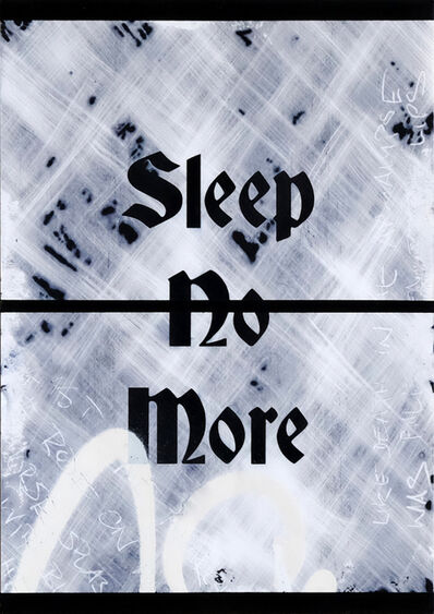 Zavier Ellis, 'Sleep No More', 2021