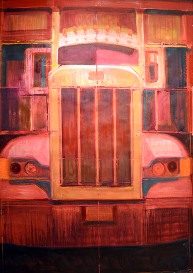 Adrianne Lobel, 'Big Red Truck', 2015