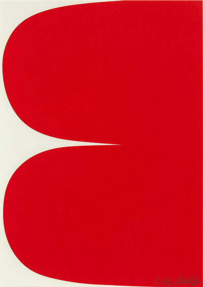 Ellsworth Kelly, 'Red Curves', 2012
