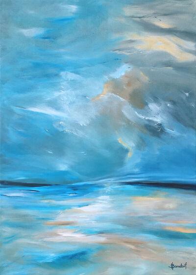 "Heidi Barnstorf, '""Dancing Sky""', 2018"
