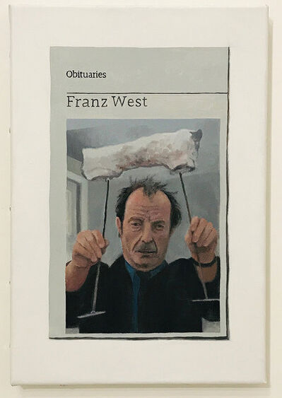 Hugh Mendes, 'Obituary: Franz West', 2018