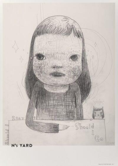Yoshitomo Nara X Aomori Museum of Art, 'Should I Stay? Or Should I Go?, from N's Yard, poster', 2018