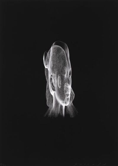 Jaume Plensa, 'Lumière Invisible (Rui Rui)', 2018