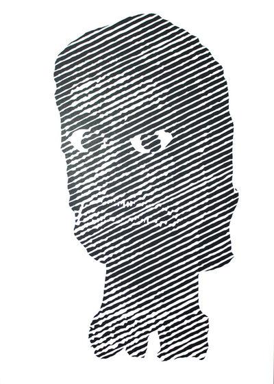 Ian Kuali'i, 'Akua Hulu Manu/Feathered God #5', 2019