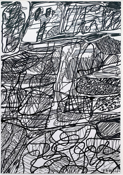 Jean Dubuffet, 'Paysage (D 378)', 1980