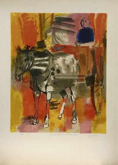 Paul Guiramand, 'Horse and carriage', ca. 1959