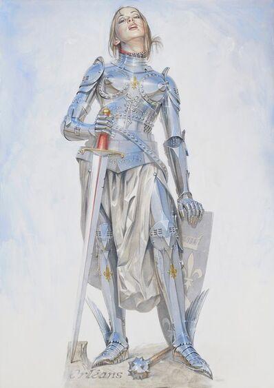 Hajime Sorayama, 'Joan of Arc', 2018