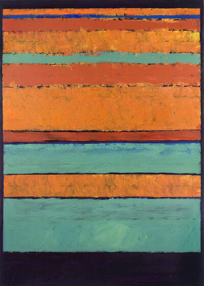David Sorensen, 'Entry 3: Orange/Yellow-Green/Violet', 2009