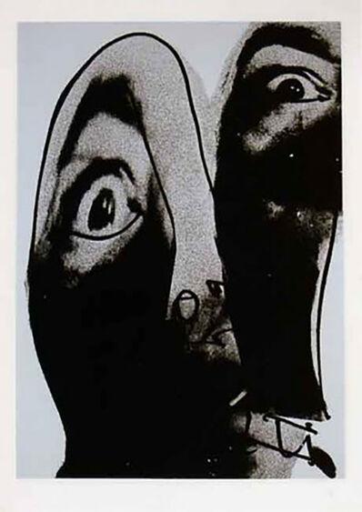 Antonio Saura, 'Moi, Planche 4', 1976