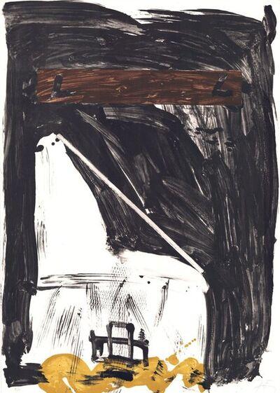 Antoni Tàpies, 'Variations VIII: Grand Chaise', 1980-1990