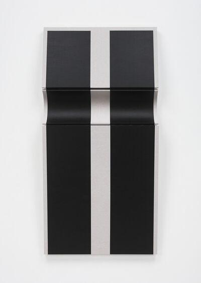 Robert William Moreland, 'Untitled Two Black Bars', 2018