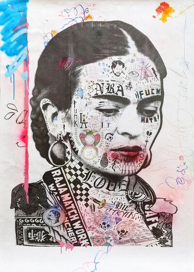 Stikki Peaches, 'Frida Kahlo', 2020