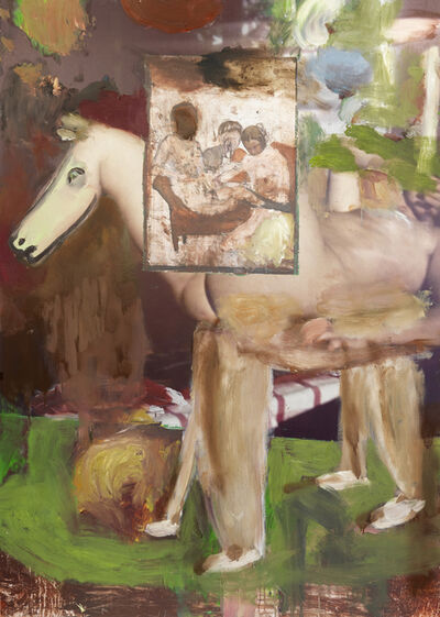 Michele Bubacco, 'Still life with trojan horse on the room on fire', 2020