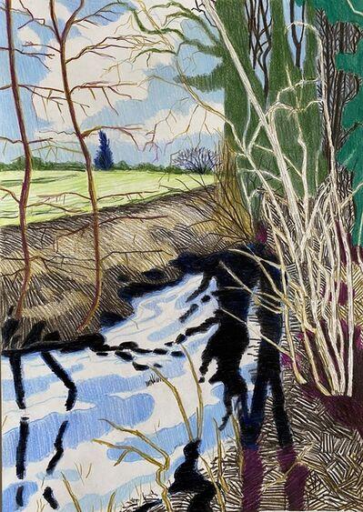 Per Adolfsen, 'The Stream (Water Mirror)', 2020