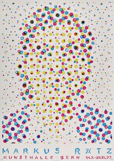 Markus Raetz, 'Markus Rätz - Kunsthalle Bern 14.X-20.XI,77', 1977
