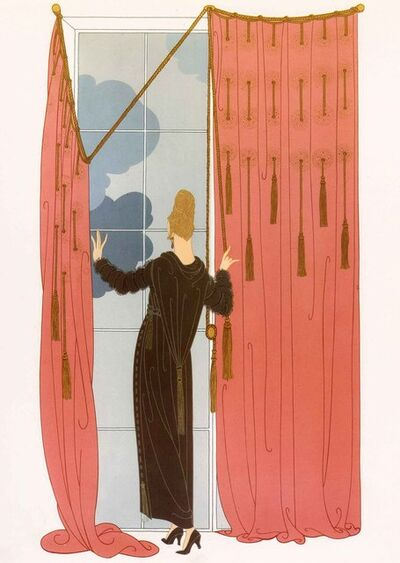 Erté (Romain de Tirtoff), 'Cloudy Morning', 1981