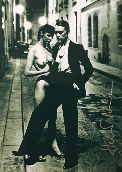 Helmut Newton, 'Yves Saint Laurent, French Vogue', 1975