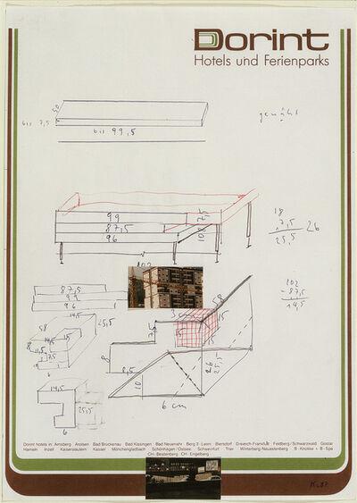 Martin Kippenberger, 'Untitled (Dorint Hotel und Fereinparks)', 1987