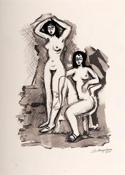 Raúl Anguiano, 'Double nude', 2005