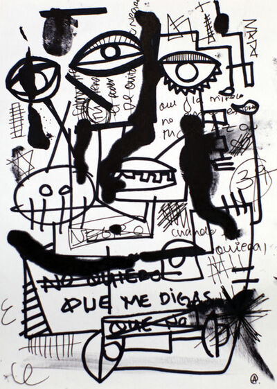 Ane Alfeiran, 'No Quiero Que Me Digas', 2018