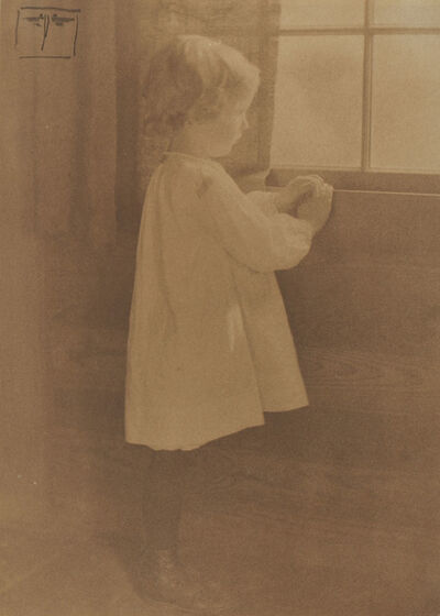 Eva Watson-Schütze, 'Girl at Window', c. 1910