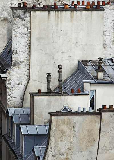 Michael Wolf (b. 1954), 'Paris Rooftops 5', (1954-2019)