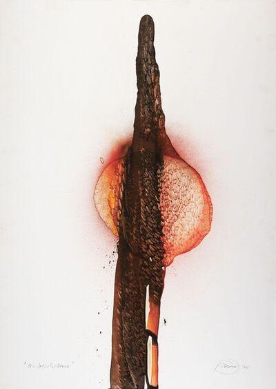 Otto Piene, 'Nachtschatten', 1994