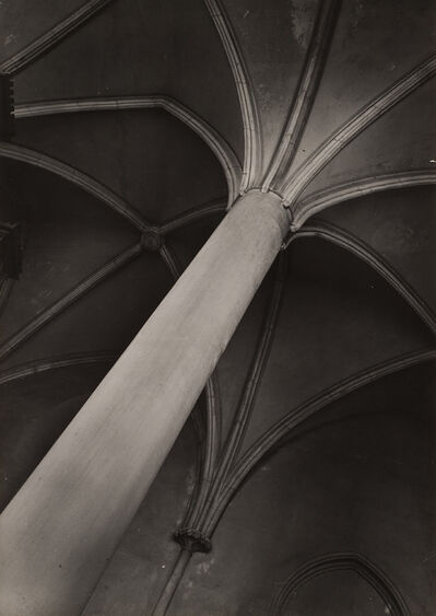 Jaromír Funke, 'Interior of the Church of the Our Lady in the Lawn in Prague', 1938