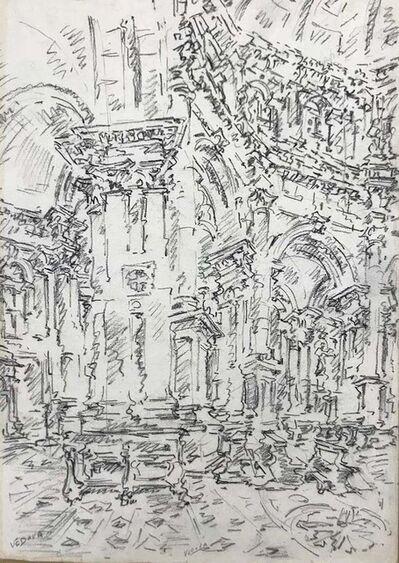 Emilio Vedova, 'Interior of S. Marco - Venice', 1970s