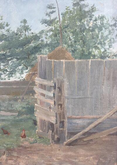 Edith Lake Wilkinson, 'Chicken House', ca. 1916