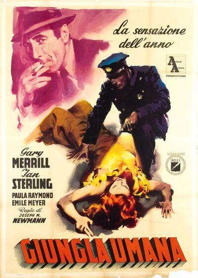 Enrico De Seta, 'GIUNGLA UMANA', 1953