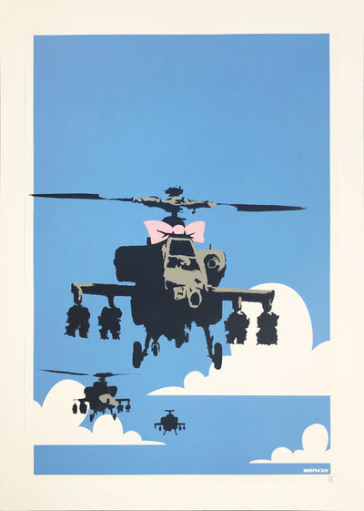 Banksy, 'Happy Chopper', 2004