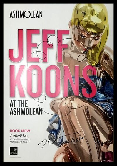 Jeff Koons, 'Jeff Koons at the Ashmolean (Hand Signed)', 2019