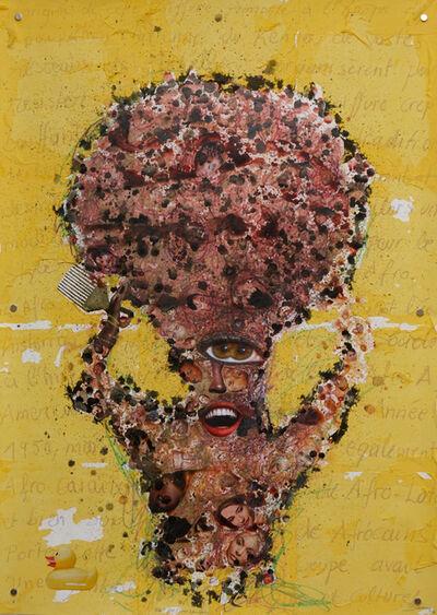 Steve Bandoma, 'Black Fist (from Afro series)', 2013