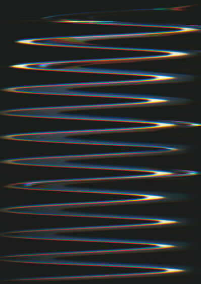 Carsten Nicolai, 'Chroma Wellenform (Scan 22)', 2015